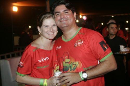 Carol e Cesar Frota