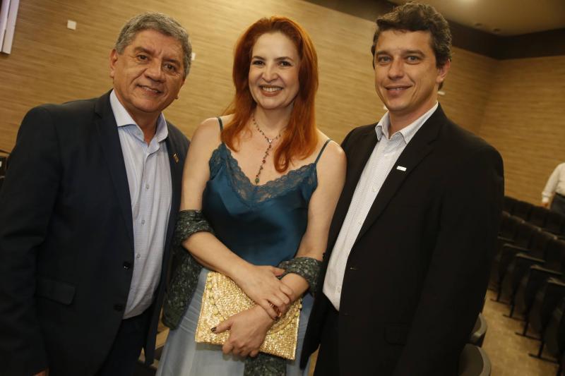 Sampaio Junior, Enid Camata e Andre Siqueira