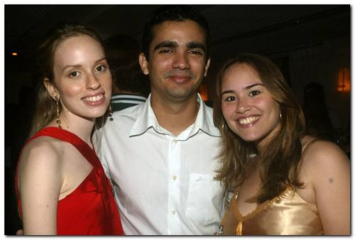 Mariana Dummar, Joao Castelo Branco e Joana Ibiapina