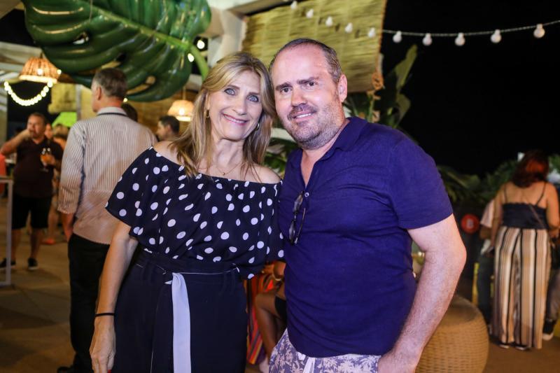 Jaqueline Barbosa e Roberto Pamplona