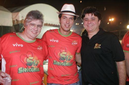 Cassio Sales, Leo Alcantara e Alexandre Frota