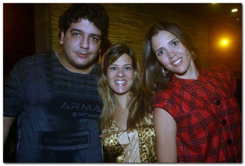 Magno e Gabriela Holanda e Luciana Perdigao