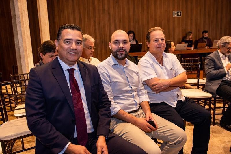 Paulo Cesar, Bruno Vieira e Francisco Ventura