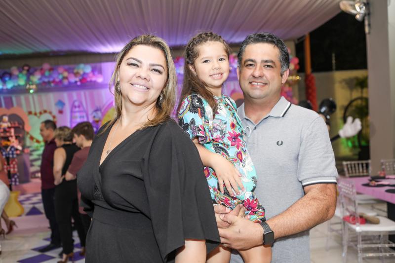 Daniele, Giulia e Cristiano Nobre