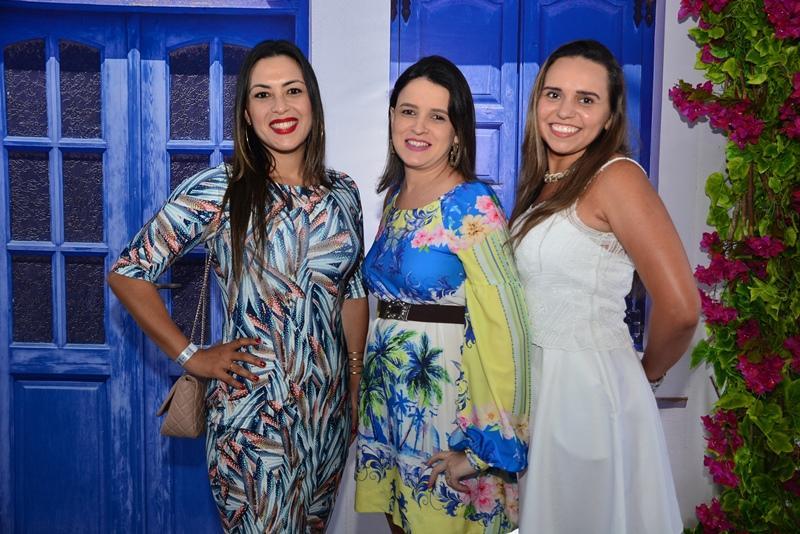 Patricia Figueiredo, Tatiane Saunders e Cristiane Martins