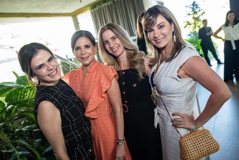 Niedja Bezerra, Maria Lucia Negrao, Karmilse Marinho e Jeritza Gurgel