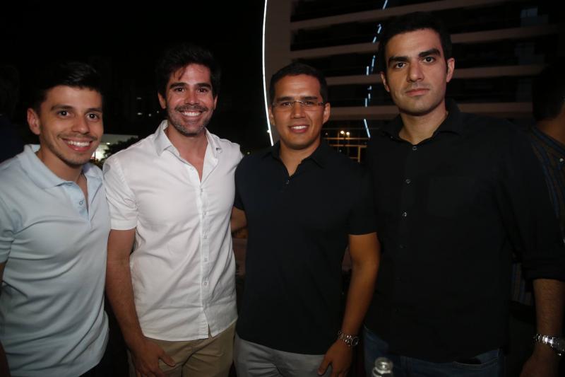 Edmar Feitosa, Garcez Neto, Turibio Maia e Rodrigo Nogueira