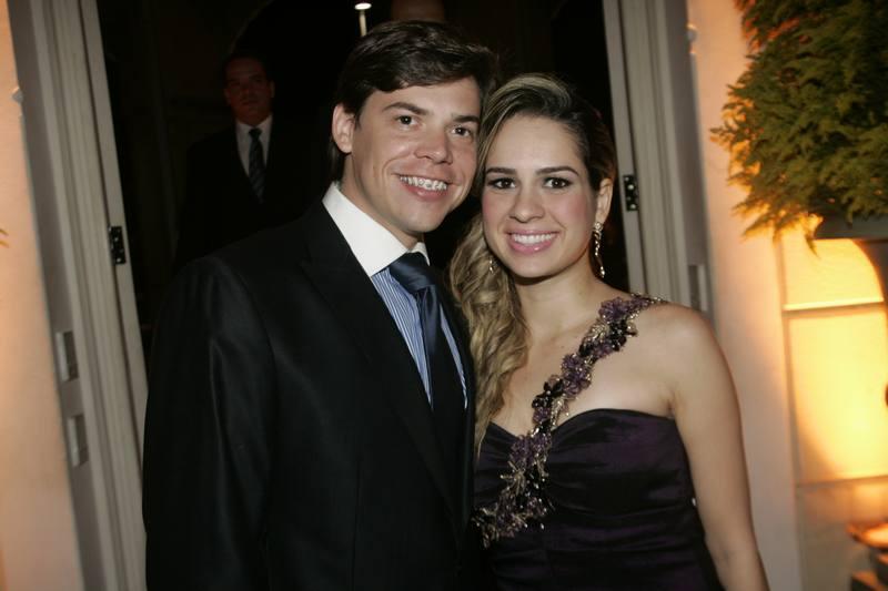 Leonardo Jensen e Camila Macedo