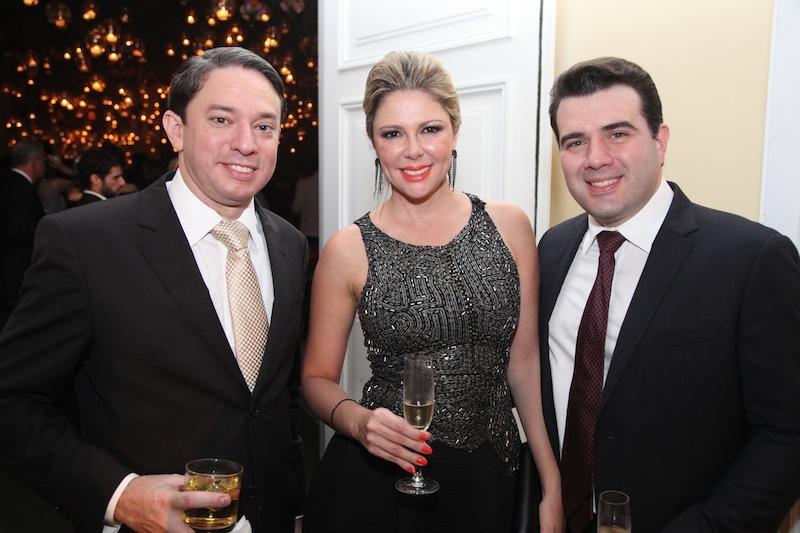Paulo Vale, Patricia e Danilo Dias
