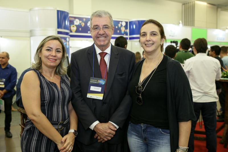 Alcioneide Botelho,Wilson Vicentino e Analice Diniz