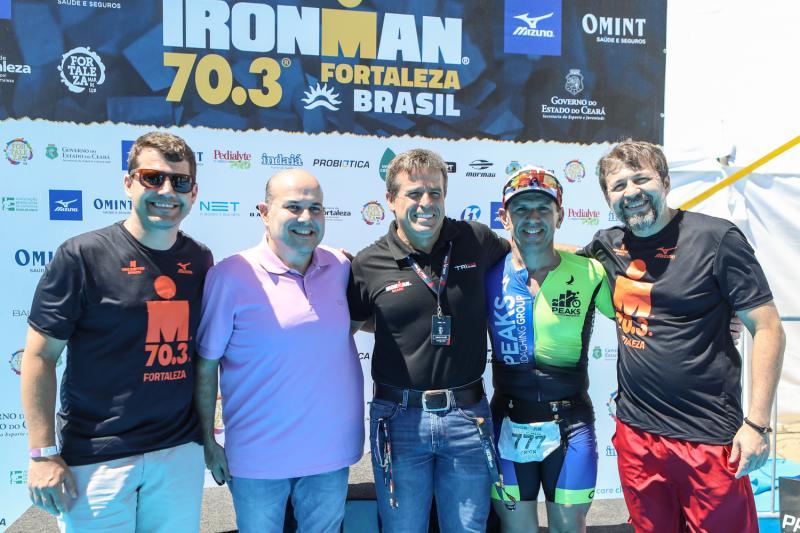 Rogerio Pinheiro, Roberto Claudio, Carlos Galvao, Erick Vasconcelos e Elcio Batista