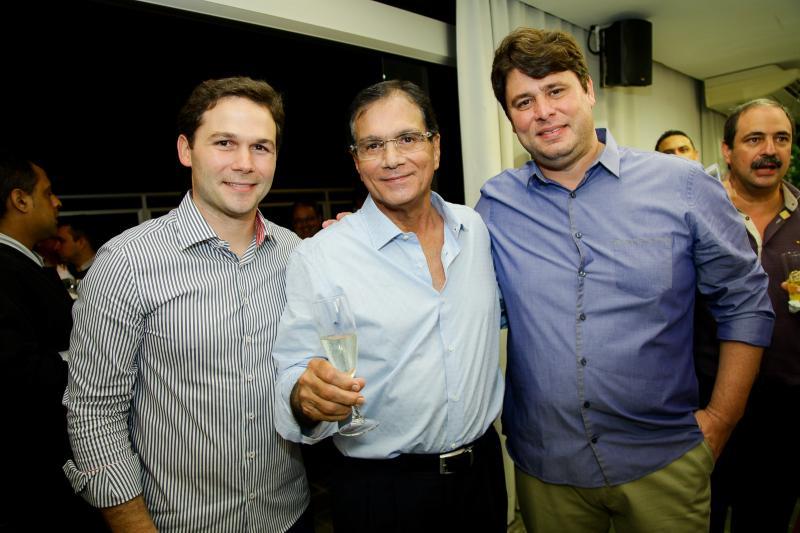 Fabio Albuquerque, Beto Studart e Ricardo Ary