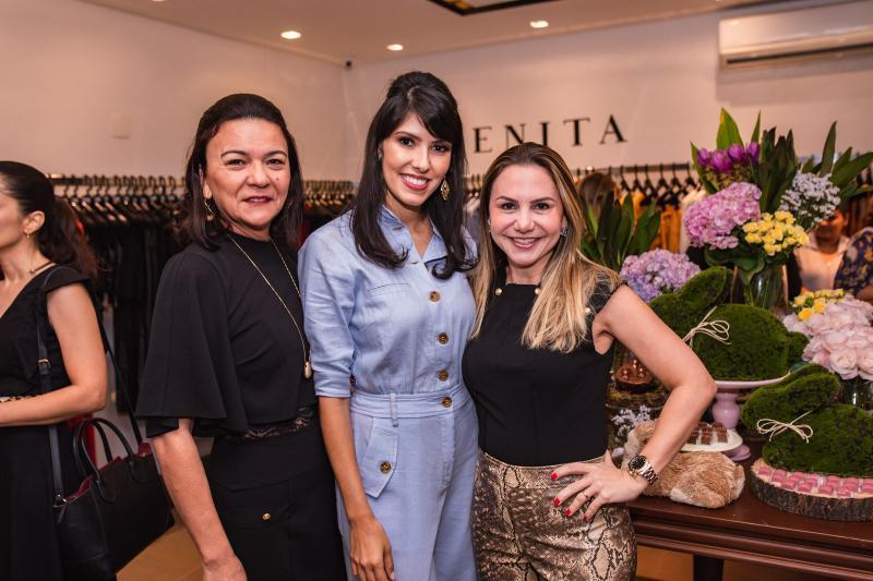 Guiomar Feitosa, Flavia Laprovitera e Adriana Queiroz