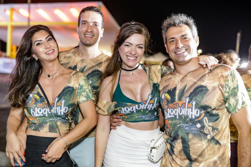 Barbara Roriz, Felipe Macedo, Cecilia Regadas e Marcos Resende