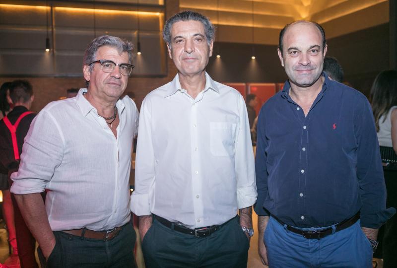 Manoel Duarte, Paulo Ramada e Pedro Ribeiro