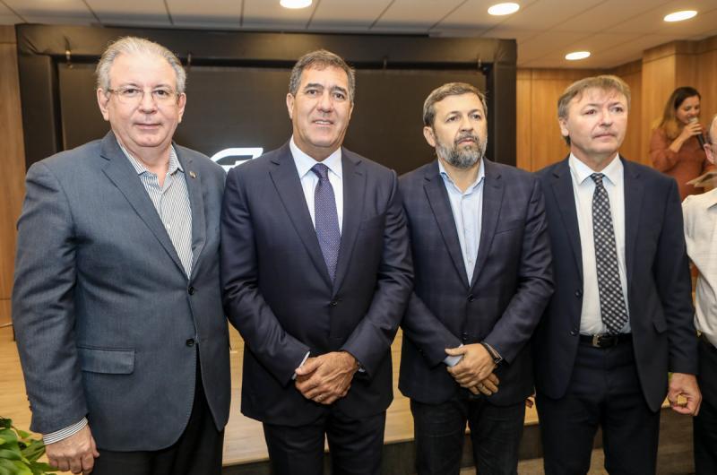 Ricardo Cavalcante, Luis Gastao Bittencourt, Elcio Batista e Mauricio Filizola