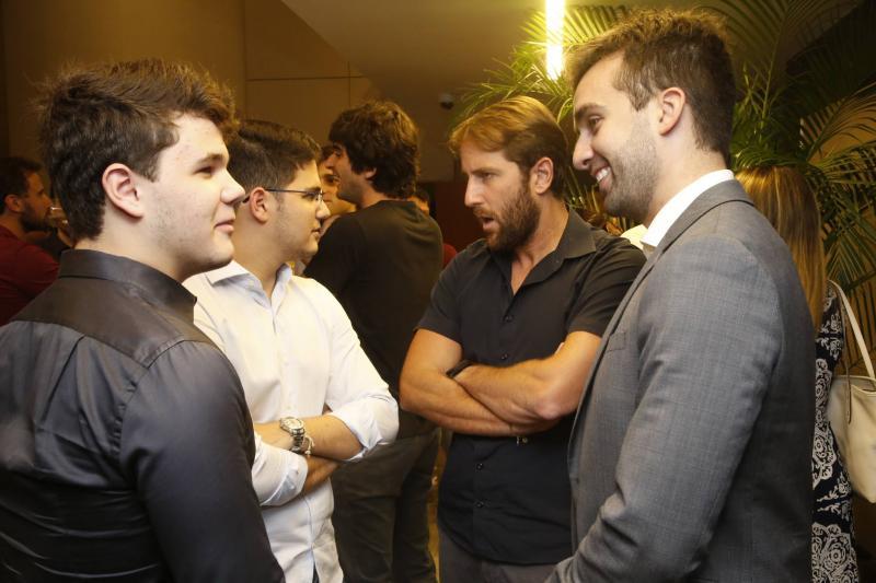 Edson IV e Otavio Queiroz, Rodrigo Frota e Igor Martins