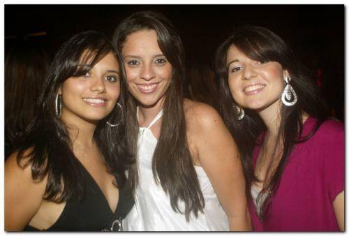 Erica Muller, Sara Meneses e Maria Teresa Rocha