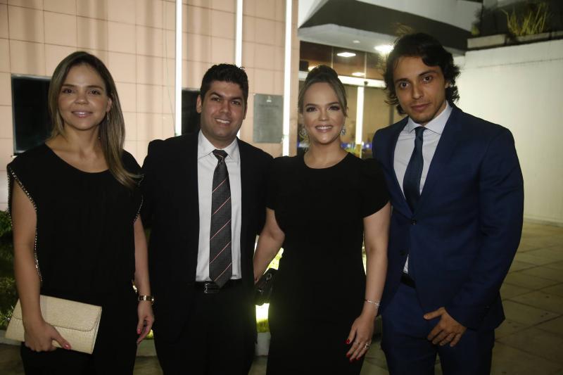 Viviane Maciel, Mauro Neto e Keliane Benevides e Celso Miranda