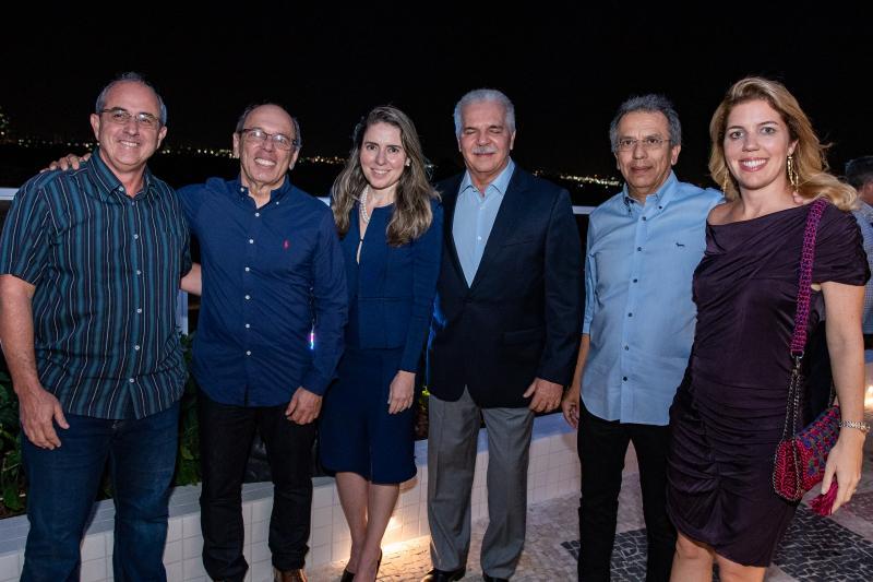 Andre Montenegro, Agueda Muniz, Pio Rodrigues,  Eduardo Rolim e Ticiana Queiroz Rolim