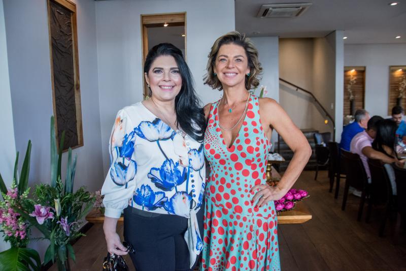 Sellene Camara e Ana Cristina Wolf