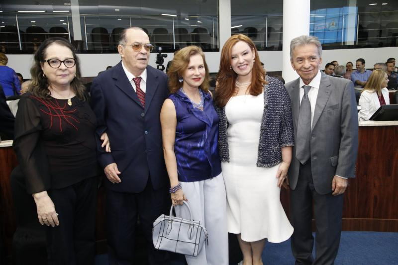 Siglinda e Regis Barroso, Renata Jereissati, Aline Barroso e Magela Felix