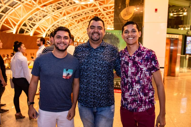 Ronaldo Marcos, Marcio Gomes e Ari Gisney