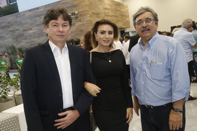 Edgar Gadelha, Jacqueline Maia e Roberto Sergio