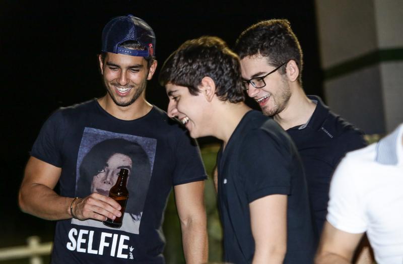 Pedro França, Magno Farias e Gabriel Lima