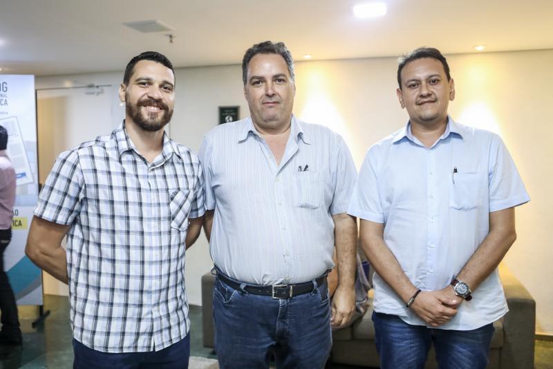 Marcelo Gurgel, Carlos Oliveira e Marcelo Freitas