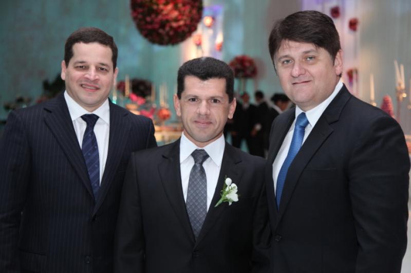 Augusto Borges, Erick Vasconcelos e Afonso Benevides