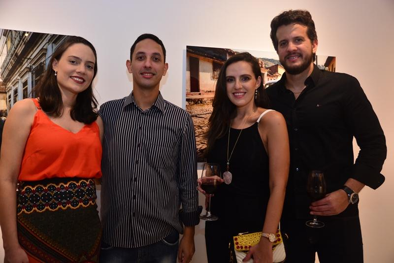 Larissa Amarante, Marcelo Sousa, Rafaela Paraiba e Teo Martins