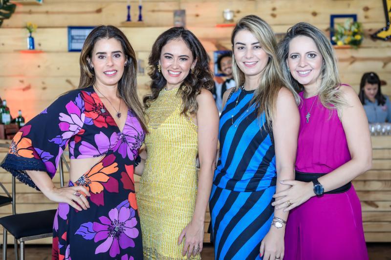 Melania Rodrigues, Bia Bezerra, Mariana Pimenta e Aline Amorin