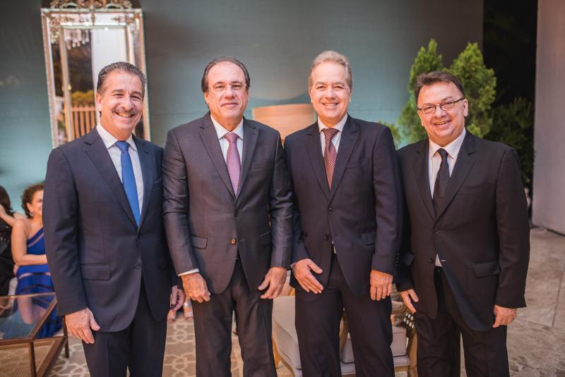 Emilio Ary, Claudio Brasil, Luis Eduardo Fiuza e Zeca Militao