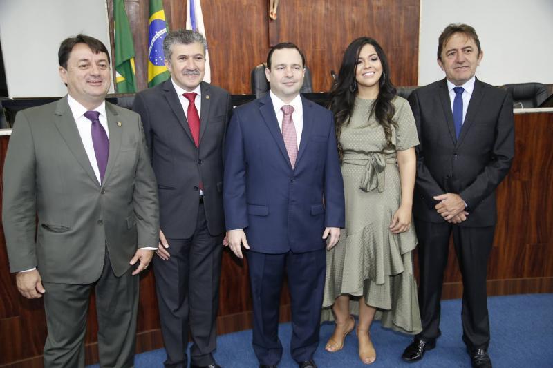 Benigno Junior, Antonio Henrique, Igor Barroso, Priscila Costa e Adail Junior