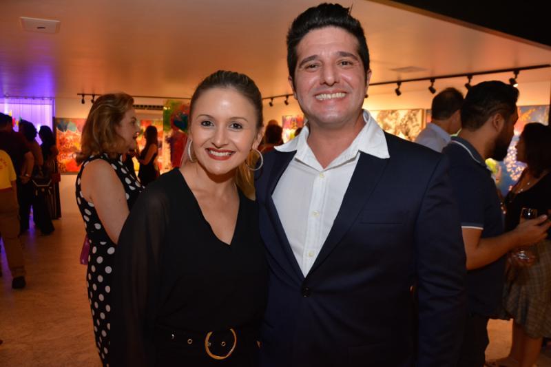 Claryanne Aguiar e Pedro Gurjao