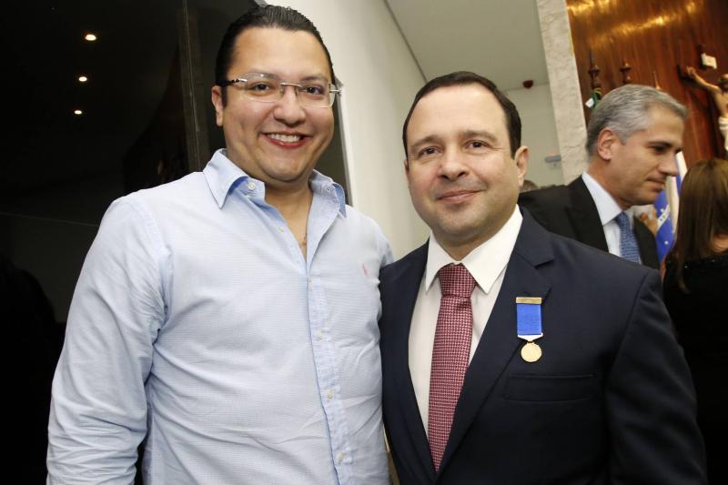 Leopoldo Cabral e Igor Barroso