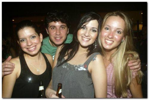 Maria Clara, Norberto Pereira, Fan Matos e Caroline Duarte