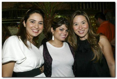 Marcela Camuca, Isabele Timoteo e Carol Yamazaki
