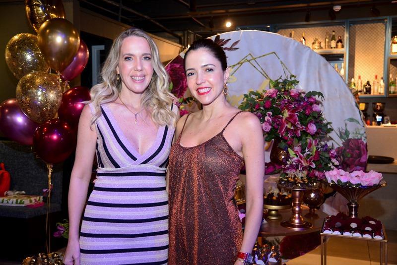 Erika Figueiredo e Sara Diniz