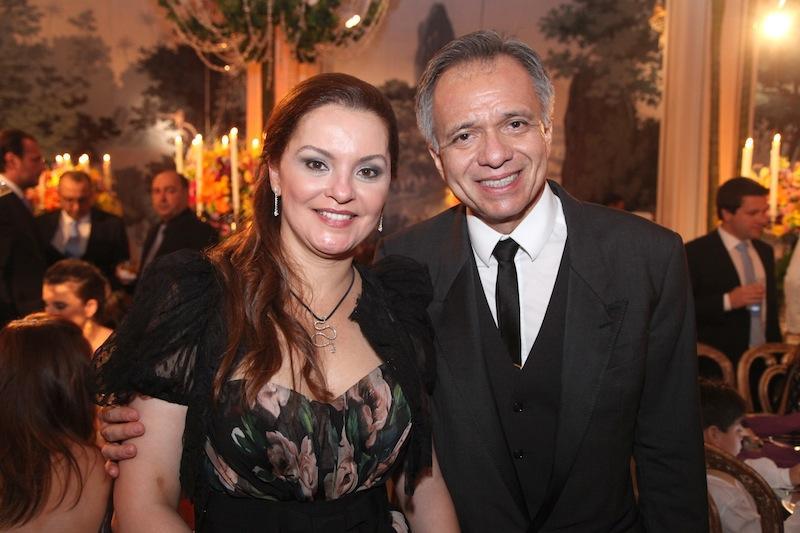 Lucia Praciano e Tadeu Costa