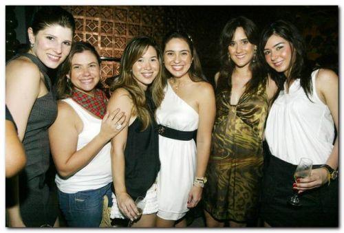 Uliana Machado,  Vanessa Queiroz, Carol Yamazaki, Marcela Camuca, Marina Ary e Livia Feitosa