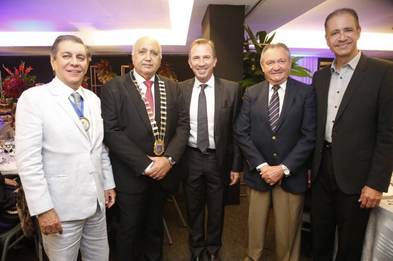 Sabino Henrique, Epitacio Vasconcelos, Philip Godofruan, Edimilson Rodrigues e Regis Medeiros