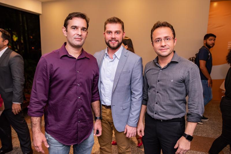 Abelardo Rocha, Vitor Pedrosa e Romulo Dias