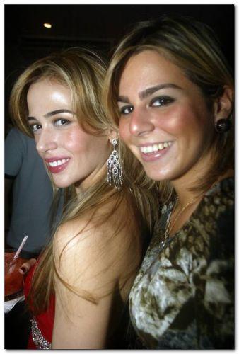 Ingrid Macedo e Amanda Tavora
