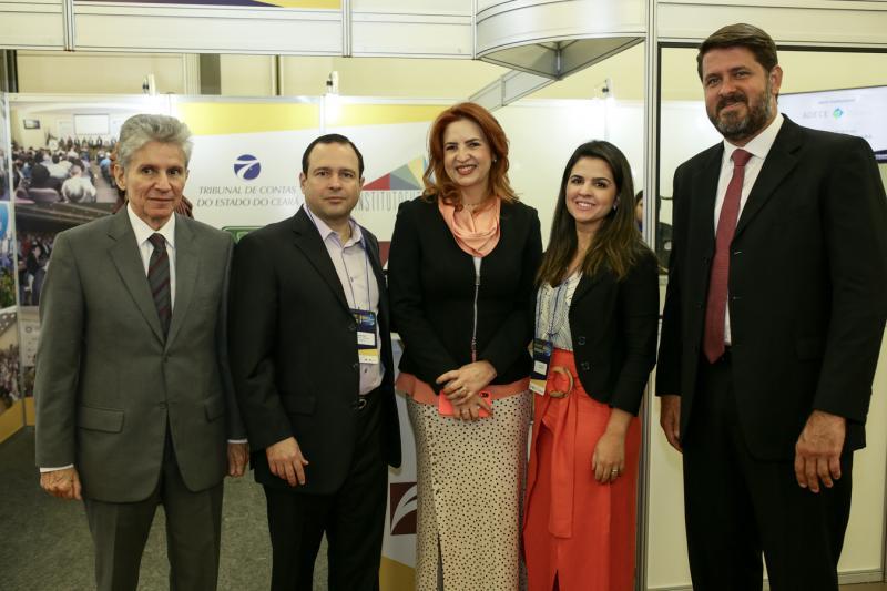 Padua Lopes, Igor Barroso, Enid Camara, Livia Medeiros e Rafael Rodrigues