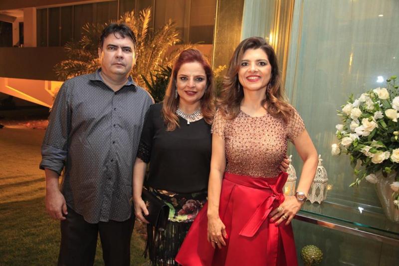 Domingo Alonso, Raquel Alonso e Rilka Bezerra