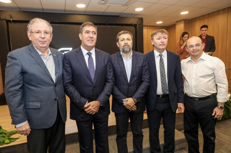 Ricardo Cavalcante, Luis Gastao Bittencourt, Elcio Batista, Mauricio Filizola e Sergio Aguiar