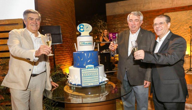 Superprestigiado! Assim foi o coquetel em comemoração aos 80 anos do grupo J. Macêdo na CasaCor Ceará 2019