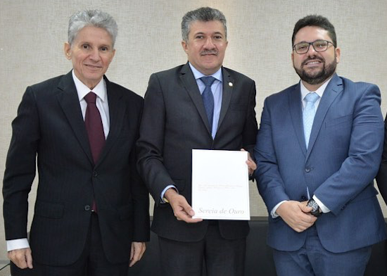 Antônio Henrique recebe convite para o Troféu Sereia de Ouro 2019